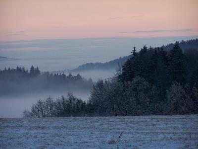 Winterabend in Freyung