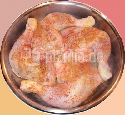 Hühnchen-Mandala