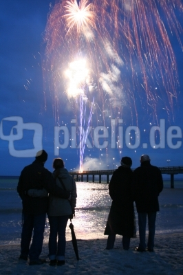 Ostsee-Feuerwerk