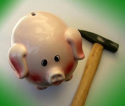Sparschwein  schlachten (2)