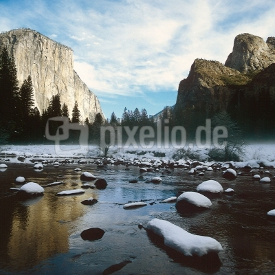 Es wird Winter im Yosemite Valley