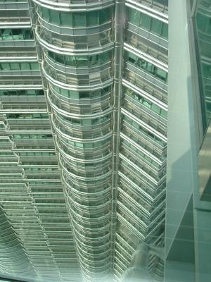 Blick von dem Twin Towers
