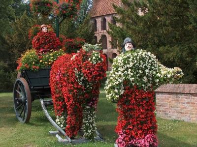 Blumenkunst in Westerstede