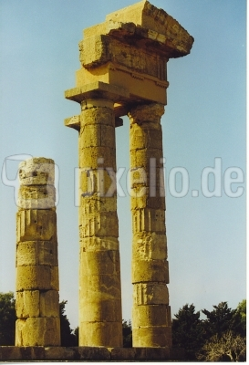 Tempel des Phytischen Apollo