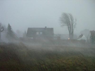 Sturm in Rheine
