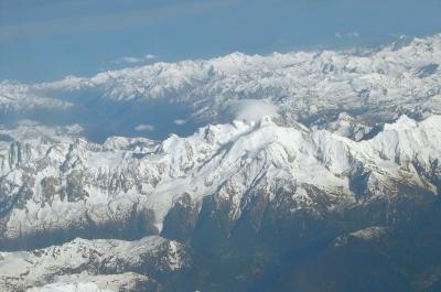 Der Mont Blanc mit Zipfelmütze