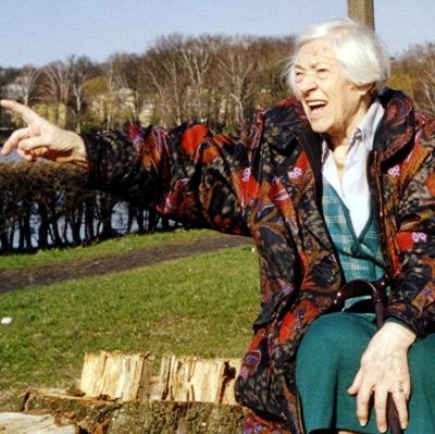 Eine Deutsche Rentnerin in Polen