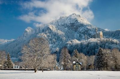 Majestätischer Winter im Allgäu