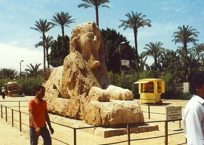 Alabaster-Sphinx von Memphis