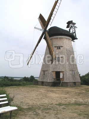 Usedom Windmühle in Binz