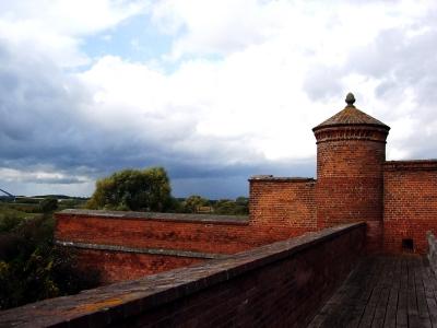 Festung Dömitz an der Elbe