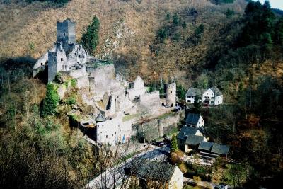 Unterburg Manderscheid, Eifel