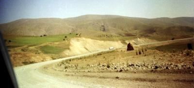 Eine Fernstrasse in der Türkei