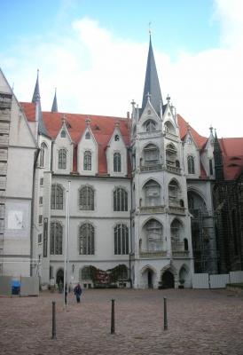 Schloßhof bei Dresden