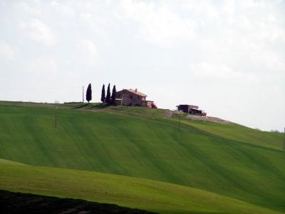 Einsames Gehöft in der Toskana
