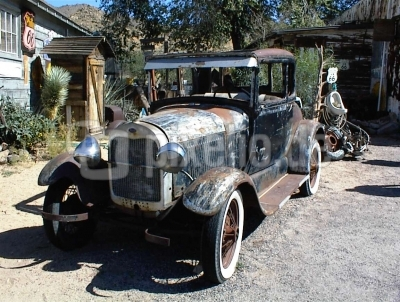 Ford 1928 (?), Route 66