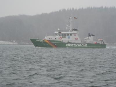 Küstenwache -Zollschiff