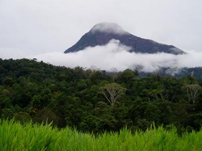 Bergketten in Malaysia