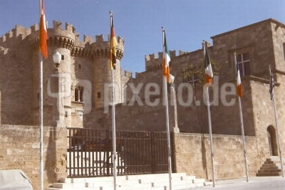 Der Palast des Großen Magister in Rhodos