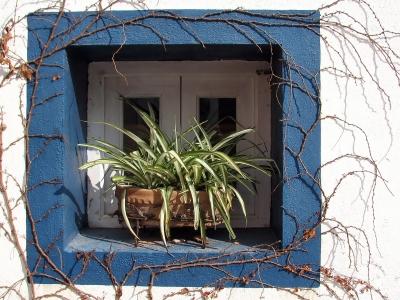 mediterranes Fenster
