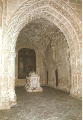 Nische in der Kirche Hyronimuskloster Lissabon