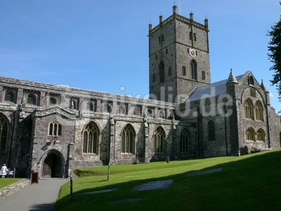 Kathedrale in St. David´s in Wales