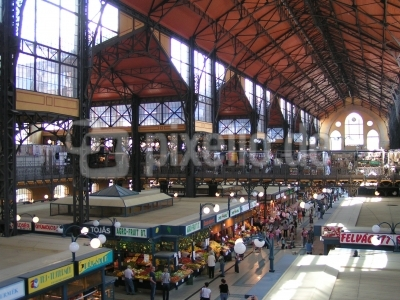 Zentrale (Große) Markthalle in Budapest