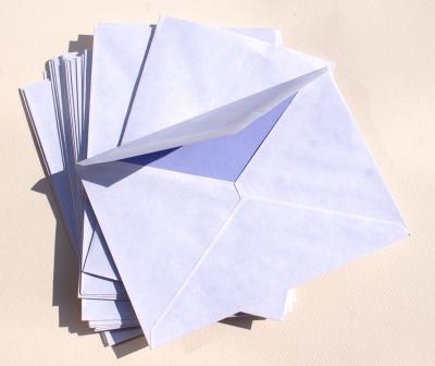 Briefumschläge weiß