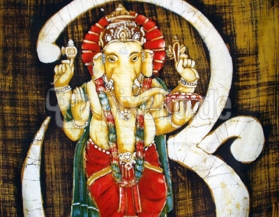 Ganesha - gemalt