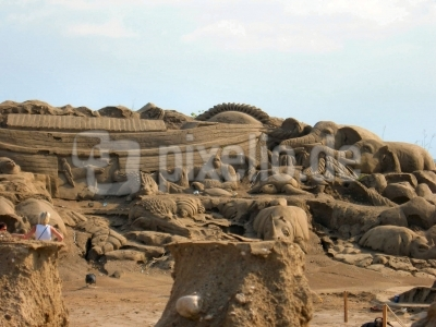 Sand CIty, Arche Noah