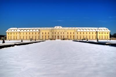 Schloss Ludwigsburg Südseite Tag