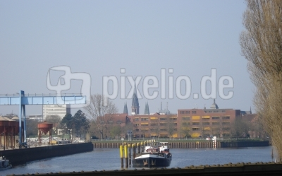 Wendehafen in Oldenburg (Hunte)