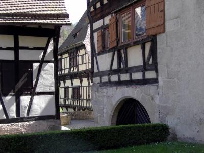 Teilansicht Schloss/Kloster Bebenhausen 5