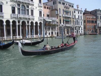 Gondel auf dem Canale Grande