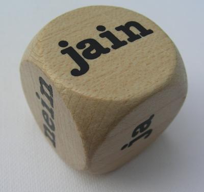 Würfel JAIN