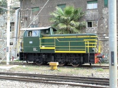 Genua 4.2007 Rangierlok