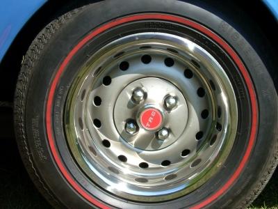 Triumph TR6 Stahlfelge