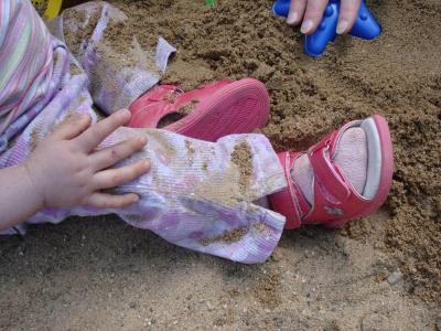 lia's sandalenfuß