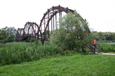 Holzbogenbrücke