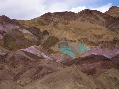 Death Valley - Maler Palette