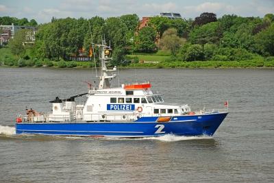 Polizeiboot - Bürgermeister Weichmann -