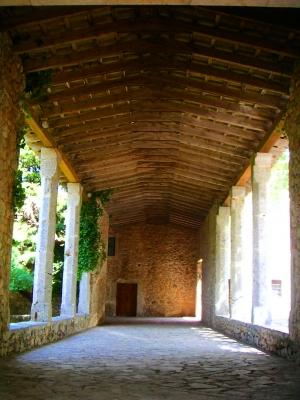 Innengang im Kloster lluc