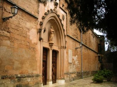 Kirche in Petra, Mallorca