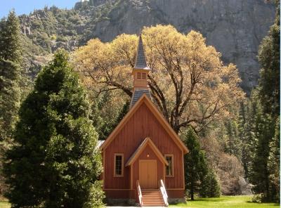 Kapelle im Yosemite NP