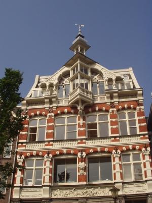 Fachwerkhaus in Amsterdam