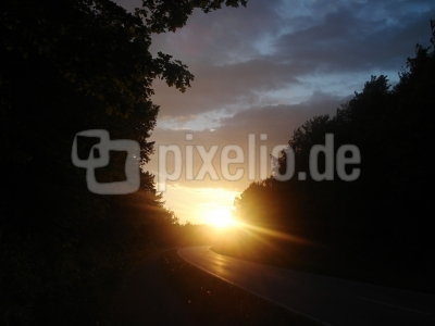 Sonnenuntergang-V