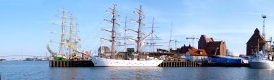 Gäste zur Stralsund Sail