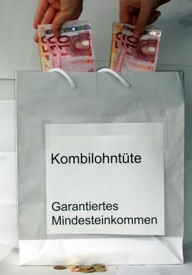 Kombilohn-Tüte