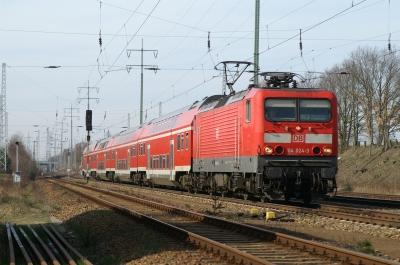 Baureihe 114 mit Regional-Express