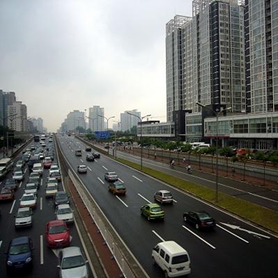 Strassenbild von Peking